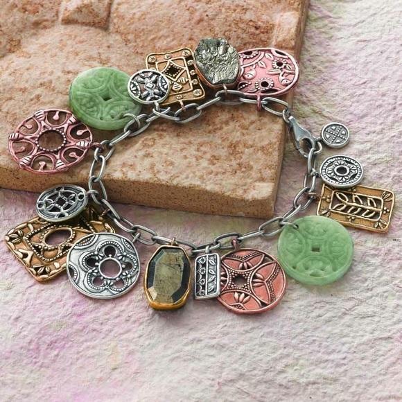 Silpada Cha-Cha Treasure Trove Coin Bracelet B2712